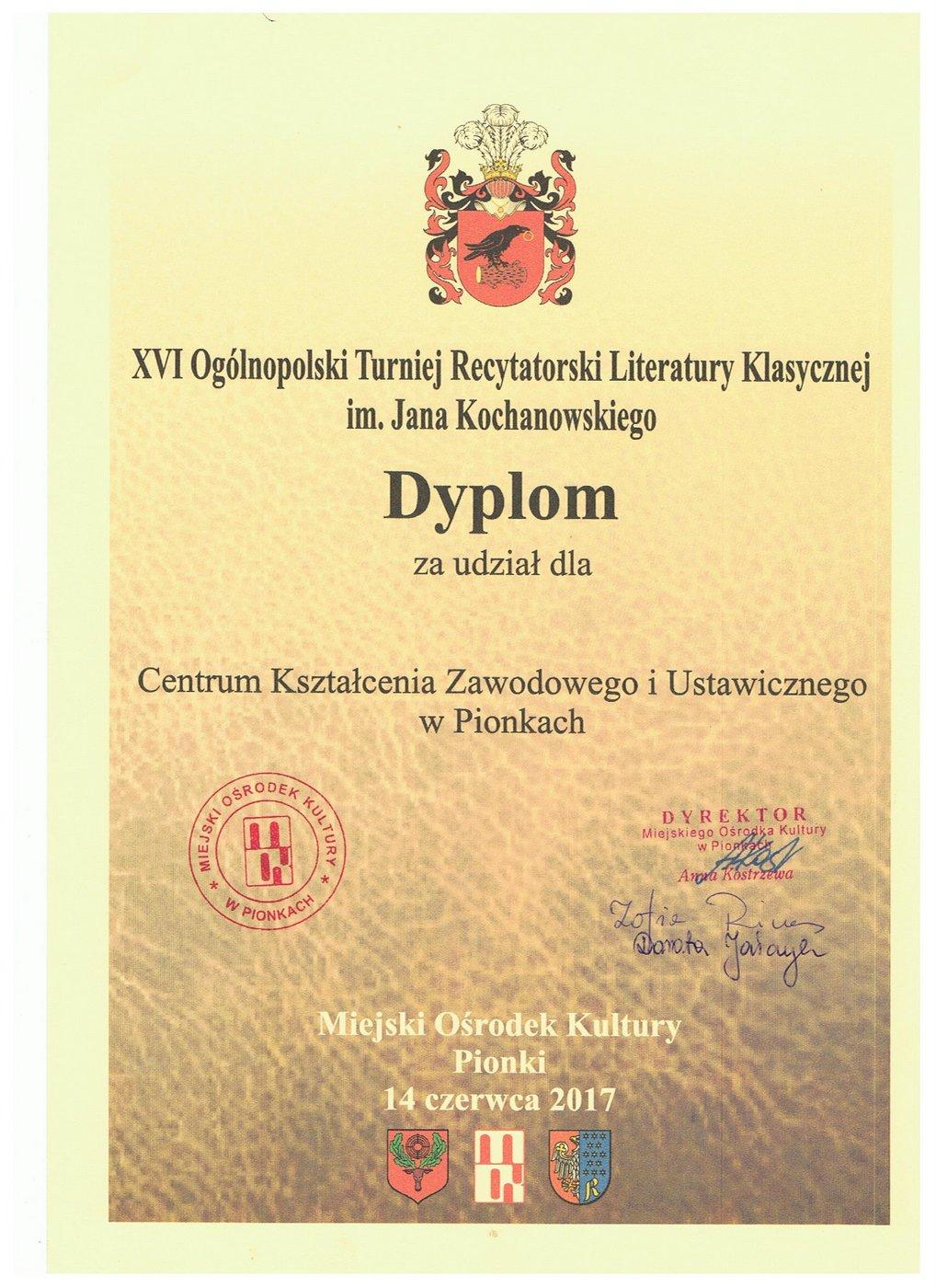 dyplom dla szkoły 001
